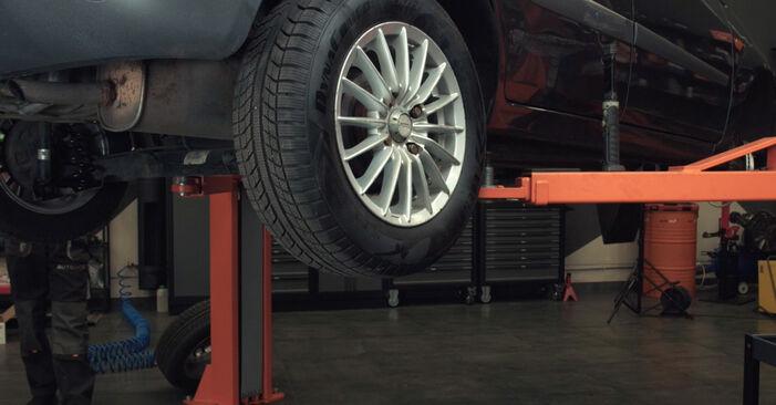 FORD FIESTA 1.4 16V Kraftstofffilter ausbauen: Anweisungen und Video-Tutorials online