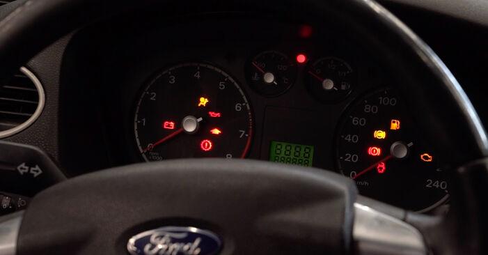 Austauschen Anleitung Kraftstofffilter am Ford Fiesta Mk5 2001 1.4 TDCi selbst