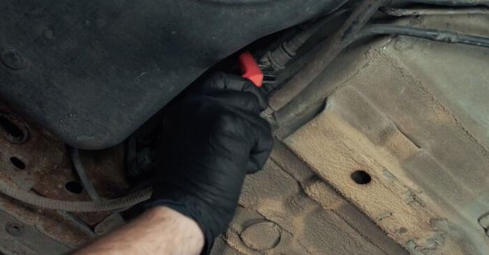 Kraftstofffilter Ford Fiesta Mk5 1.3 2003 wechseln: Kostenlose Reparaturhandbücher