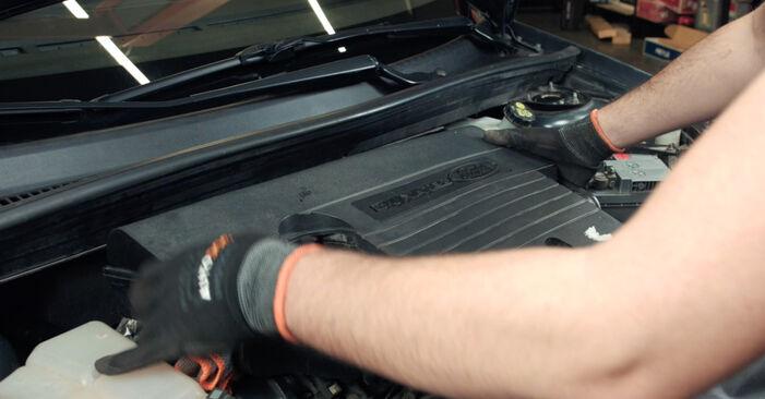 Wie Luftfilter Ford Fiesta Mk5 1.4 TDCi 2001 tauschen - Kostenlose PDF- und Videoanleitungen