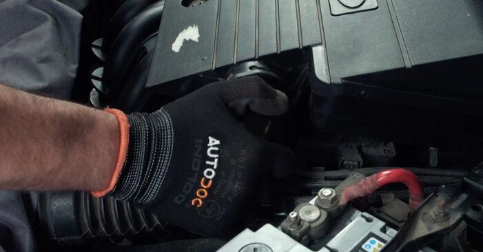 Luftfilter am FORD Fiesta Mk5 Schrägheck (JH1, JD1, JH3, JD3) 1.6 TDCi 2006 wechseln – Laden Sie sich PDF-Handbücher und Videoanleitungen herunter