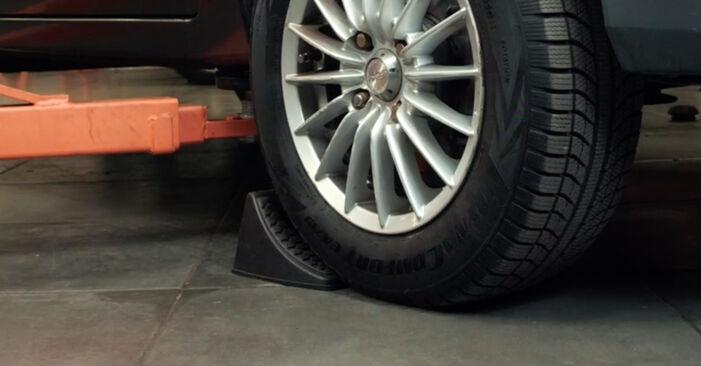 Kaip pakeisti Skersinės vairo trauklės galas la Ford Fiesta Mk5 2001 - nemokamos PDF ir vaizdo pamokos