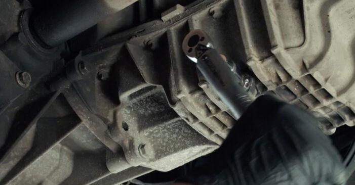 Byta FORD Fiesta Mk5 Hatchback (JH1, JD1, JH3, JD3) 1.3 2005 Oljefilter – gör det själv med onlineguide