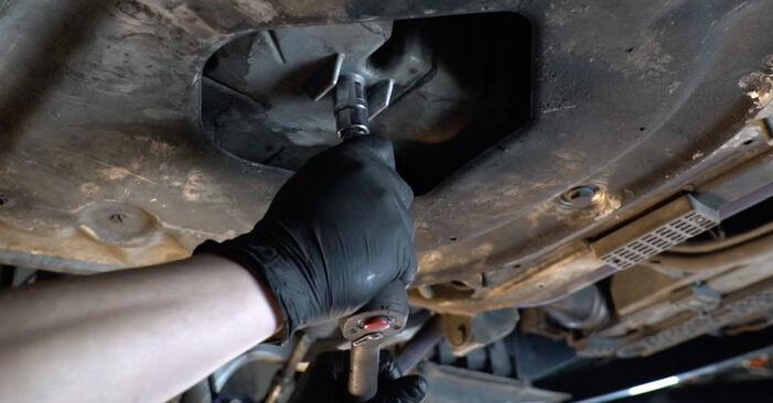 Wie schwer ist es, selbst zu reparieren: Ölfilter BMW E60 530i 3.0 2007 Tausch - Downloaden Sie sich illustrierte Anleitungen