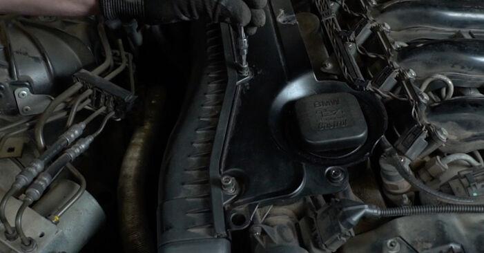 Luftfilter am BMW 5 Limousine (E60) 535d 3.0 2006 wechseln – Laden Sie sich PDF-Handbücher und Videoanleitungen herunter