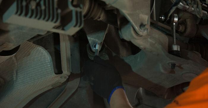 Wechseln Radlager am BMW 5 Limousine (E60) 520i 2.2 2004 selber