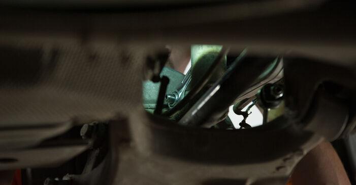 BMW 5 SERIES 2008 Amortizatoriaus Atraminis Guolis išsami keitimo instrukcija