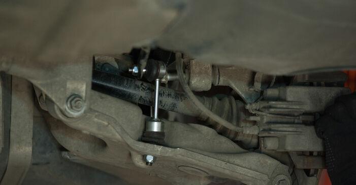 Kaip pakeisti BMW 5 Sedanas (E60) 530d 3.0 2002 Amortizatoriaus Atraminis Guolis - išsamios instrukcijos ir vaizdo pamokos