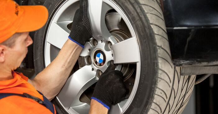 Išsamios BMW E60 2004 525d 3.0 Amortizatoriaus Atraminis Guolis keitimo rekomendacijos