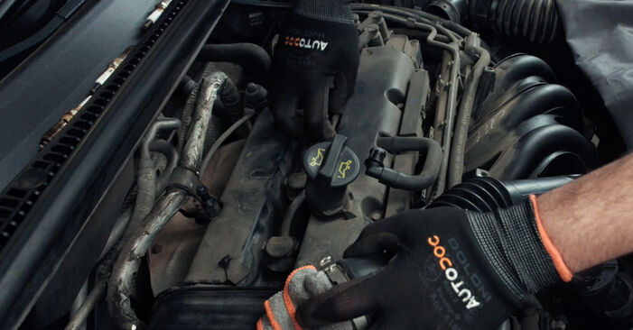 Wie Zündkerzen Ford Fiesta Mk5 1.4 TDCi 2001 tauschen - Kostenlose PDF- und Videoanleitungen