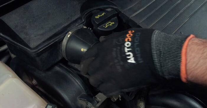 Zündkerzen am FORD Fiesta Mk5 Schrägheck (JH1, JD1, JH3, JD3) 1.6 TDCi 2006 wechseln – Laden Sie sich PDF-Handbücher und Videoanleitungen herunter
