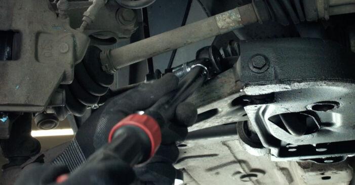 Jak vyměnit Zkrutna tyc na Ford Fiesta Mk5 2001 - bezplatné PDF a video návody