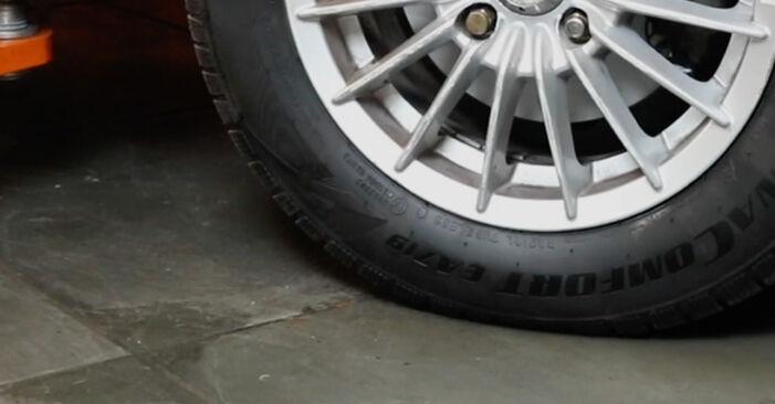 Jak dlouho trvá výměna: Zkrutna tyc na autě Ford Fiesta Mk5 2009 - informační PDF návod