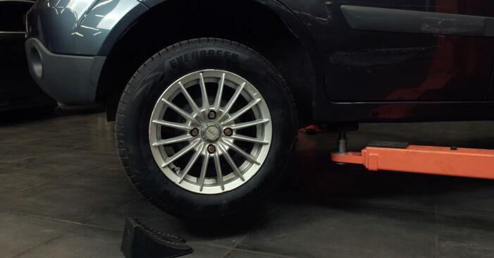 Stoßdämpfer Ford Fiesta Mk5 1.3 2003 wechseln: Kostenlose Reparaturhandbücher