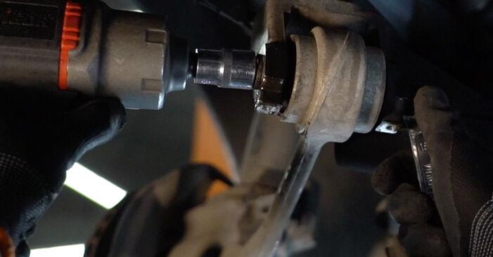 Tausch Tutorial Stoßdämpfer am BMW 5 Limousine (E39) 1998 wechselt - Tipps und Tricks