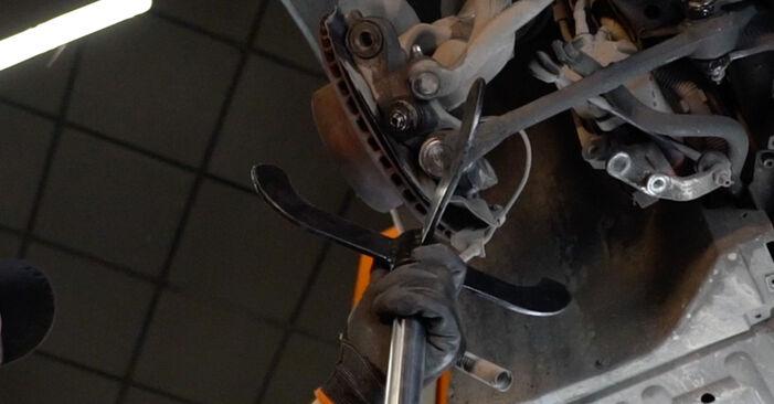 Wie BMW 5 SERIES 525tds 2.5 1999 Stoßdämpfer ausbauen - Einfach zu verstehende Anleitungen online