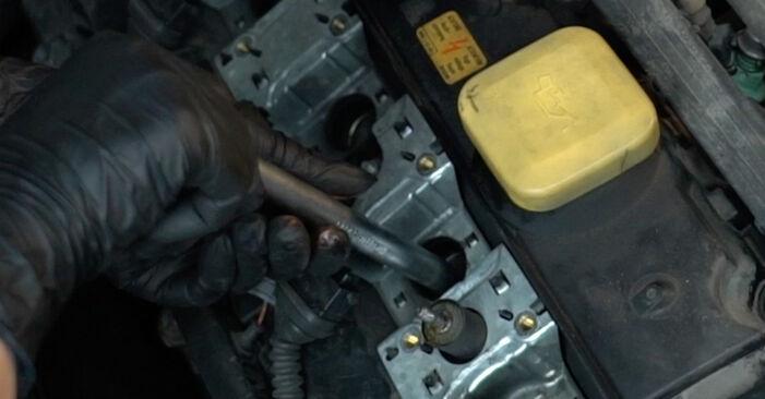 Wie Zündkerzen BMW 5 Limousine (E39) 530d 3.0 1996 austauschen - Schrittweise Handbücher und Videoanleitungen