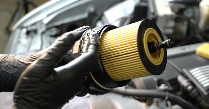 Ölfilter am BMW 5 Limousine (E39) 525d 2.5 2000 wechseln – Laden Sie sich PDF-Handbücher und Videoanleitungen herunter