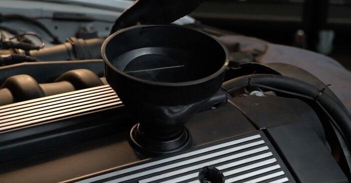 Ölfilter Ihres BMW E39 540i 4.4 2003 selbst Wechsel - Gratis Tutorial