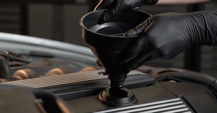 5 Limousine (E39) 525tds 2.5 1997 530d 3.0 Ölfilter - Handbuch zum Wechsel und der Reparatur eigenständig