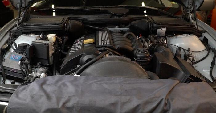 Schritt-für-Schritt-Anleitung zum selbstständigen Wechsel von BMW E39 1999 525tds 2.5 Ölfilter