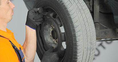 VW GOLF 1.80 Radlager ausbauen: Anweisungen und Video-Tutorials online