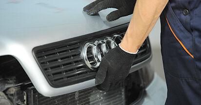 Schritt-für-Schritt-Anleitung zum selbstständigen Wechsel von Audi A4 B5 Limousine 1999 1.8 T quattro Innenraumfilter