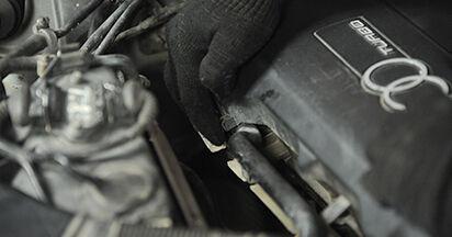 Zündkerzen Audi A4 B5 Limousine 1.8 1996 wechseln: Kostenlose Reparaturhandbücher