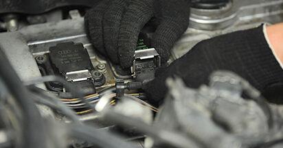 Schritt-für-Schritt-Anleitung zum selbstständigen Wechsel von Audi A4 B5 Limousine 1999 1.8 T quattro Zündkerzen
