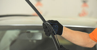AUDI A4 2001 Scheibenwischer Schritt-für-Schritt-Tutorial zum Teilewechsel