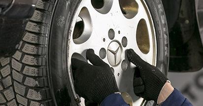 Hinweise des Automechanikers zum Wechseln von MERCEDES-BENZ C-CLASS (W202) C 220 D 2.2 (202.121) 1999 Bremsscheiben