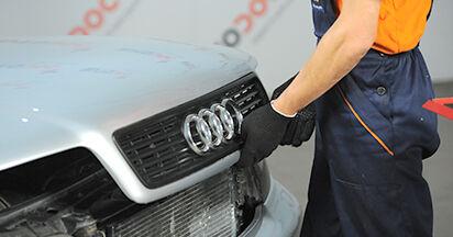 Ölfilter Ihres Audi A4 B5 Limousine 1.6 1994 selbst Wechsel - Gratis Tutorial