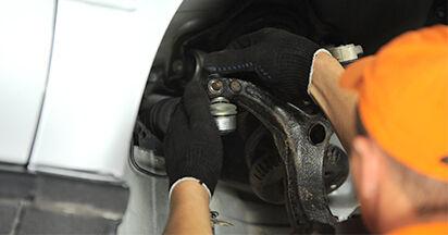 AUDI A4 1.9 TDI Spurstangenkopf ausbauen: Anweisungen und Video-Tutorials online