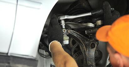 Austauschen Anleitung Spurstangenkopf am Audi A4 B5 Limousine 1996 1.6 selbst