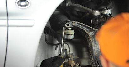 Austauschen Anleitung Radlager am Audi A4 B5 Limousine 1996 1.6 selbst