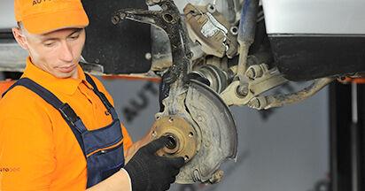 Zweckdienliche Tipps zum Austausch von Radlager beim AUDI A4 (8D2, B5) 1.8 2000
