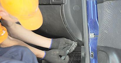 Schritt-für-Schritt-Anleitung zum selbstständigen Wechsel von Opel Astra g f48 1999 1.7 DTI 16V (F08, F48) Innenraumfilter