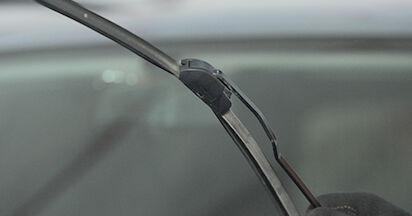 Wie Scheibenwischer Opel Astra g f48 1.6 16V (F08, F48) 1998 tauschen - Kostenlose PDF- und Videoanleitungen