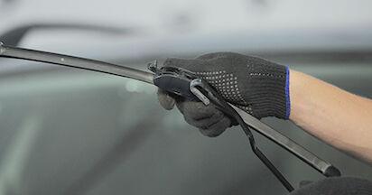 Wechseln Scheibenwischer am OPEL ASTRA G Hatchback (F48_, F08_) 2.0 DTI 16V (F08, F48) 2001 selber