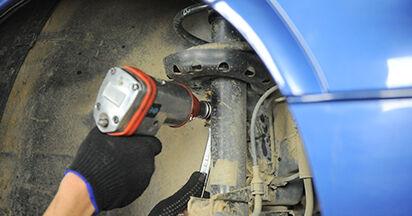 Koppelstange Opel Astra g f48 1.4 16V (F08, F48) 2000 wechseln: Kostenlose Reparaturhandbücher