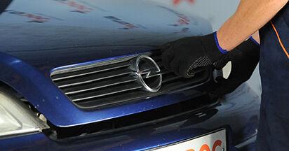 Federn Ihres Opel Astra g f48 1.6 16V (F08, F48) 2006 selbst Wechsel - Gratis Tutorial