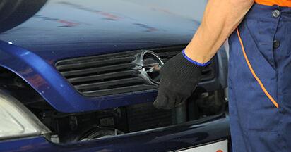 Wie schwer ist es, selbst zu reparieren: Federn Opel Astra g f48 2.0 DI (F08, F48) 2004 Tausch - Downloaden Sie sich illustrierte Anleitungen