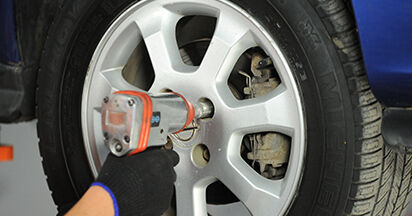 Schritt-für-Schritt-Anleitung zum selbstständigen Wechsel von Opel Astra g f48 1999 1.7 DTI 16V (F08, F48) Federn