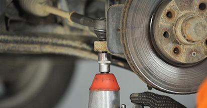 Spurstangenkopf beim OPEL ASTRA 2.0 16V (F08, F48) 2005 selber erneuern - DIY-Manual