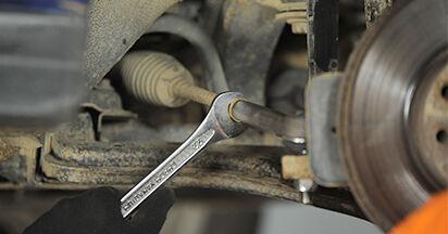 Spurstangenkopf Ihres Opel Astra g f48 1.6 16V (F08, F48) 2006 selbst Wechsel - Gratis Tutorial