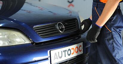 Domlager Ihres Opel Astra g f48 1.6 16V (F08, F48) 2006 selbst Wechsel - Gratis Tutorial