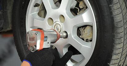 Austauschen Anleitung Domlager am Opel Astra g f48 2008 1.6 16V (F08, F48) selbst