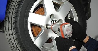 Wie Bremstrommel VW Lupo 6x1 1.2 TDI 3L 1998 tauschen - Kostenlose PDF- und Videoanleitungen