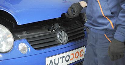 Sostituire Ammortizzatori su VW LUPO (6X1, 6E1) 1.4 2004 non è più un problema con il nostro tutorial passo-passo