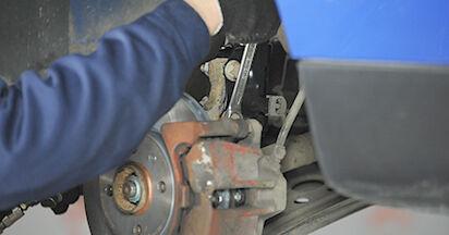 Come sostituire VW LUPO (6X1, 6E1) 1.2 TDI 3L 1999 Ammortizzatori - manuali passo passo e video guide